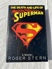 The Death and Life of Superman by Roger Stern (1993, Hardcover)