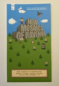 Space Invader - New mosaics of Ravenna #24 - Invasion Map Of Ravenna #24