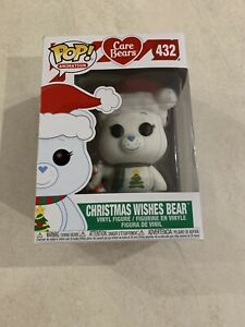 CARE BEARS: CHRISTMAS WISHES BEAR EXCLUSIVE FUNKO Pop Vinyl Figure NEW +Protec
