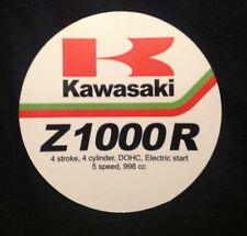 KAWASAKI Z1000R ELR / Z1100R / Z1900 / Z1R + more dealer sales tag 1970's / 80's