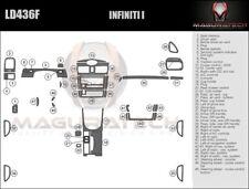 Fits Infiniti I30 2000-2001 Large Premium Wood Dash Trim Kit