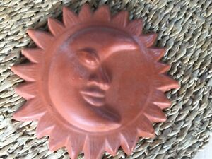 SriLankan hand made wall hanging clay decoration hand craft wall decoration moon