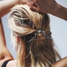 Hairpins Star Moon Triangle Hair Pin Comb Hairgrips Hair Clip For Women
