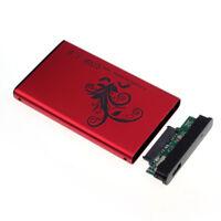 """Boîtier pour Disque Dur Externe 2,5"""" pouces SATA USB 3.0 Super Speed / RD"""
