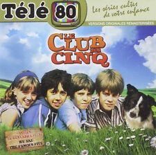 """RARE! CD NEUF """"TELE 80 : LE CLUB DES 5 CINQ"""" 30 morceaux"""