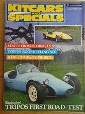 Kitcars & Specials Mar 1987 Maelstrom, RMB profile, Tripos