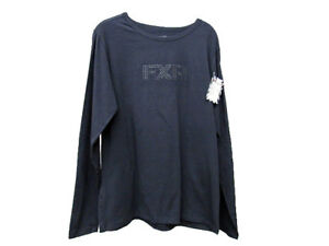 New FXR Women's Studded Long Sleeve  Shirt - Black - 14883.100