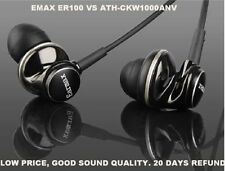 Earmax ER100 HiFi Dynamic earphones наушники earbud headphone wire VS CKW1000ANW