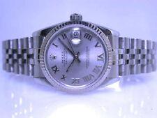 Rolex Armbanduhren mit 12-Stunden-Zifferblatt und Glanz