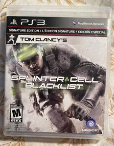 Splinter Cell Blacklist Signature Edition - PlayStation 3 PS3