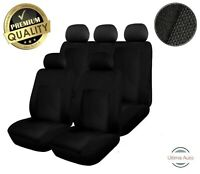 Landrover Discovery 2 1998-2004 Full Set Black Fabric Car Seat Covers