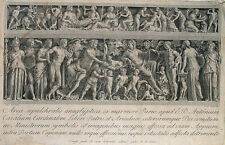 Piale Cunego Bacchus Fest Satyr Saturnalien Wein Sarkophag Roma Appia Ariadne