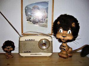 LOEWE OPTA LISSY, Kofferradio, Transistorradio, unbeschädigt, Museumsstück