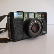 Appareil photo argentique CANON AF35M made in TAIWAN design XXe PN France N2904