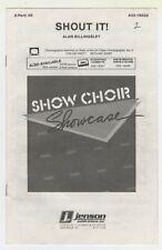 Choral Music:Shout It - 2-Part with cassette -Qty.28-Jenson Pub (432-19332)