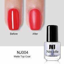 NEE JOLIE 3.5ml Nail Polish Black White Green Red Long Lasting Nail Art Varnish