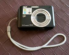 GE Model M145 14.1 MP 5X Optical Zoom Digital Camera Black Tested Works