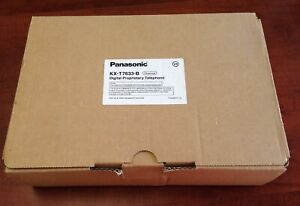 Panasonic KX-T7633-B Brand New in the Original Box Charcoal Gray KX-T7633 New