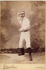 Charlie Ferguson Baseball  Philadelphia Quakers Studio Portrait Antique Image