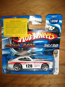 Hot Wheels J3277 2006First Editons 36/38Datsun 240Z #36 White 120