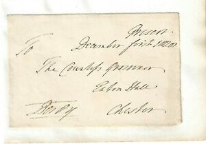 Edward Smith-Stanley, 12th Earl of Derby. UK MP  Signed Free Front 1828