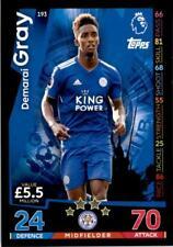 Match Attax 18/19 Demarai Gray Leicester City Base card No. 193