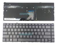 New Brown Gray HP Spectre x360 13-W 13-W000 Keyboard Backlit US
