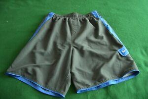 Men's Nike  Blue gray Shorts Size XL Beach Swim Trunks Lined