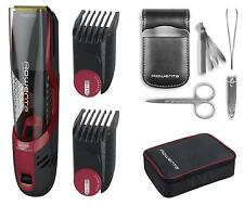 Rowenta Air Force Ultimate TN9310  Cortapelos incluye set de manicura y neceser