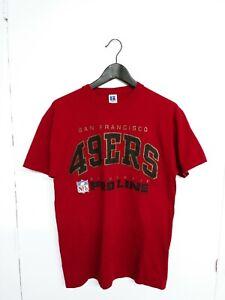 Vtg 1995 Russell Pro Line San Fransico 49ers T-Shirt Size (M)