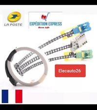 Câble 7 pins + connecteurs, com2000 airbag Peugeot 206, 307, 406, 806,partner...