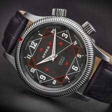 BURAN Poljot 2612 Wecker Alarm Handaufzug russische Uhr mechanisch 2612/6501717