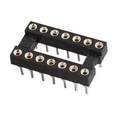 10pcs 14Pin DIP Round DIP IC Socket Adapter Solder Type