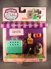 1993 Kenner Littlest Pet Shop Perky Pup with Cozy Crate