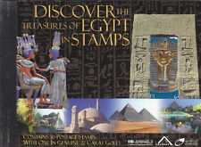 stamps EGYPT 2004 DISCOVER TREASURES OF EGYPT 30 STAMPS BOOKLET MNH */*