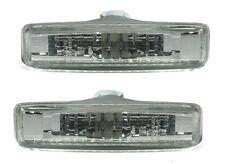 2 CLIGNOTANT REPETITEUR D'AILE BLANC BMW SERIE 5 E39 95-03 520D 530D 525 TDS ...