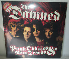 2 LP THE DAMNED - PUNK ODDITIES AND RARE TRACKS - SPLATTER - NUOVO NEW