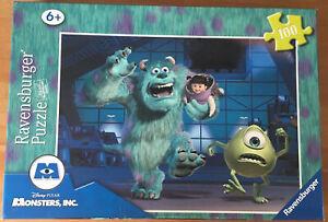 Ravensburger Disney Pixar Monsters Inc 100 Piece XXL Children's Jigsaw Puzzle