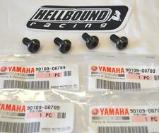 NEW OEM Yamaha rear brake disc mounting bolt set of 4 Yamaha Raptor 660 2001-05