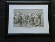 The Beatles 1962 Black & White Framed Photo Print Picture Photograph