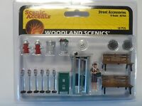Woodlend Scenics   O Street Accessories  WOO2764