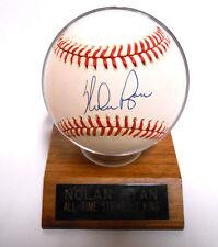 Nolan Ryan HOF Auto Autographed Signed Ball Baseball w/ Holder ScoreBoard COA