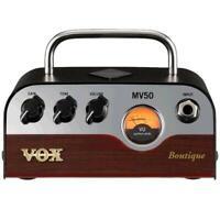 Vox MV5O Boutique 50-Watt Guitar Amplifier Head with Nutube MV-50 Amp MV50-BG