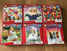 CHILDRENS CRA-Z-ART PUZZLE BUG  JIG SAW  PUZZLE==100 PIECES = IN SEALED BOX -NEW