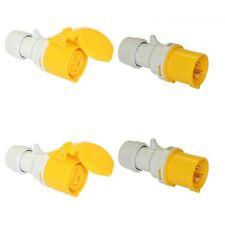 Sitio se arrastra Plug & Socket 16 Amp 110 V 2 conjuntos 110 V 16 A PCE Rápido Twist Lock