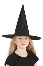 Chapeau enfants noir Halloween déguisement sorcière magicienne maléfique thème