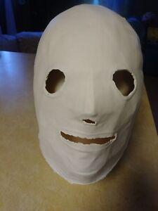 Slipknot Corey Taylor Crash Dummy Mask Blank