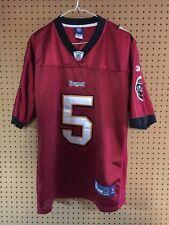 Reebok NFL Jersey Tampa Bay Buccaneers Josh Freeman Red Size 50 Stitched