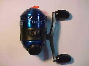 NEW ZEBCO 33 MICRO CUSTOM BLUE FISHING REEL BITE ALERT METAL QUICK SET