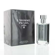 PRADA L'HOMME by Prada 1.7 OZ EAU DE TOILETTE SPRAY NEW in Box for Men